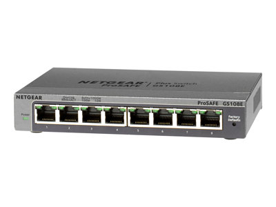 NETGEAR  GS108Ev3 Switch 8-porte Gigabit