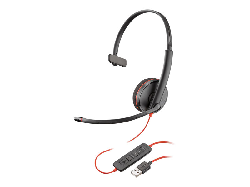 PLANTRONICS Blackwire C3210 MICRO-CASQUE MONAURAL USB Type-A