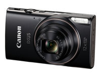 Canon IXUS 285 HS - Digital camera - compact - 20.2 MP - 1080p / 30 fps - 12x optical zoom - Wi-Fi, NFC - black