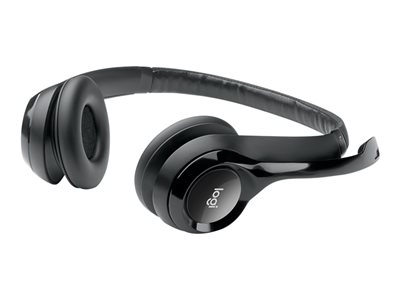 Logitech USB Headset H390 Headset on-ear wired USB