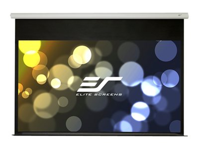 Elite Screens SPM91H-E12 Projection screen surface with motor and bottom panel rear