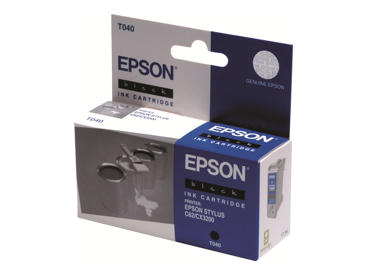 epson t040 pots de peinture noire originale. Black Bedroom Furniture Sets. Home Design Ideas