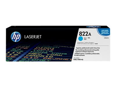 HP 822A - Cyan - Original - Trommel-Kit - für Color LaserJet 9500gp, 9500hdn, 9500mfp, 9500n