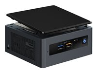 Intel Next Unit of Computing Kit NUC8I5BEH - mini-PC - Core i5 8259U 2.3 GHz - 0 GB - ingen HDD