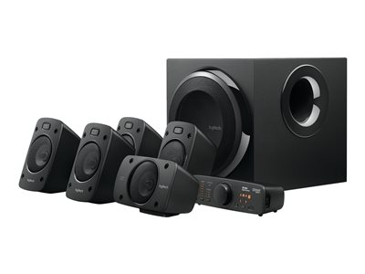Logitech Z-906 - speaker system - for home theater