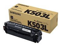 Samsung CLT-K503L High Yield black original toner cartridge (SU150A)