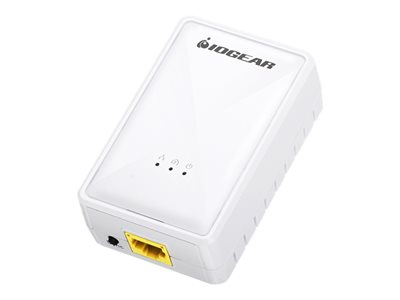 IOGEAR Powerline Wireless Extender Bridge HomePlug 1.0, HomePlug AV (HPAV), 1905.1 2.4 GHz
