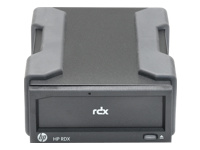 HPE RDX Removable Disk Backup System - Disk drive - RDX - SuperSpeed USB 3.0 - external