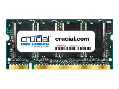 Crucial - DDR - 1 GB - SO DIMM 200-PIN - 333 MHz / PC2700 - CL2.5