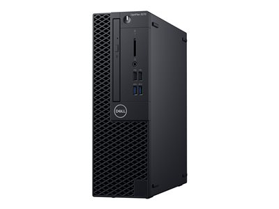 Dell OptiPlex 3070 SFF Core i3 9100 / 3.6 GHz RAM 8 GB HDD 500 GB DVD-Writer