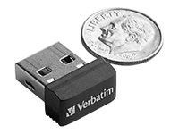 Verbatim Store n Stay NANO - USB-Flash-Laufwerk - 32 GB - USB 2.0