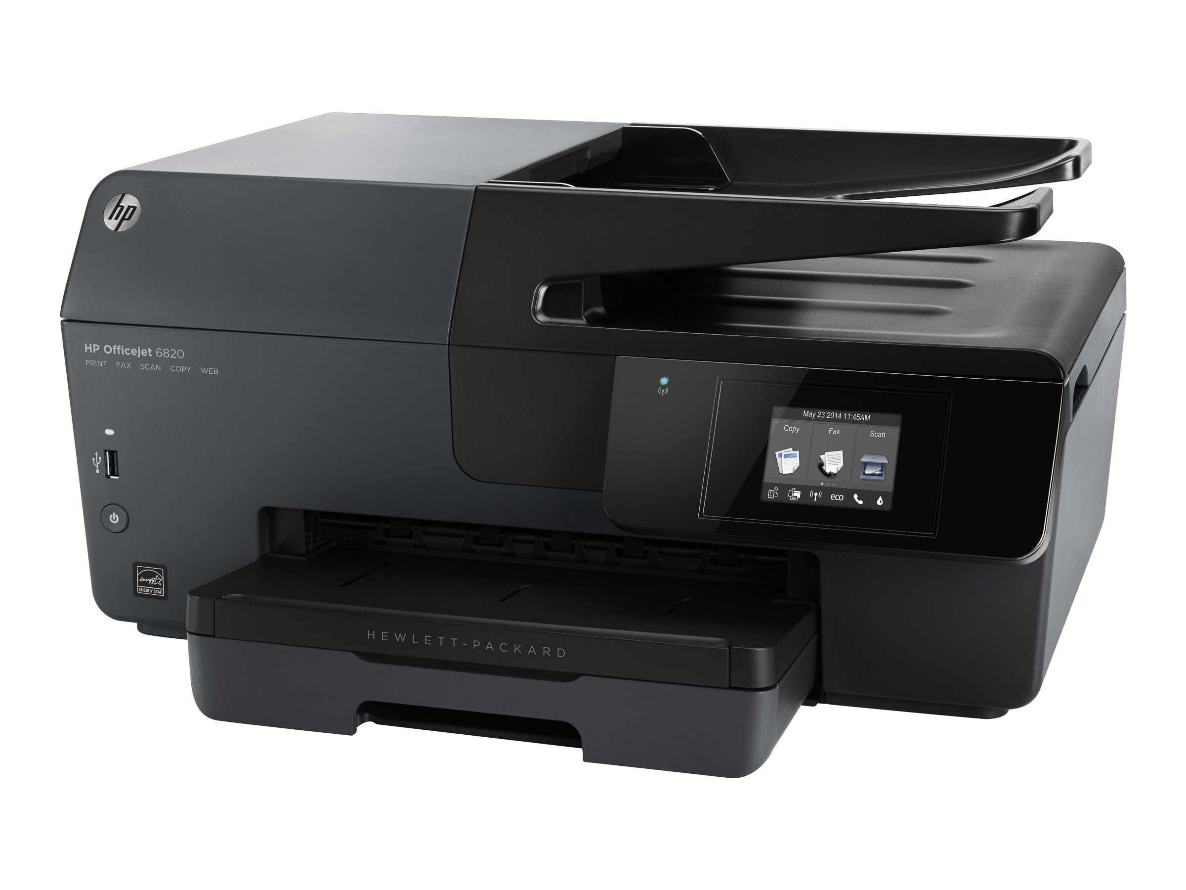 HP Officejet 6820 e-All-in-One - Multifunktionsdrucker - Farbe - Tintenstrahl - Legal (216 x 356 mm) (Original) - A4/Legal (Medien)