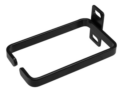 StarTech.com 1U Vertical 2.2 x 3.9in Server Rack Cable Management D-Ring Hook w/ Flexible Opening - Network Rack-Mount Cord Organizer Ring (CMHOOK1U) - Cable management ring - black - 1U - for P/N: RK12WALLOA, RK15WALLO, RK15WALLOA, RK4236BKB, RKCONS1708K, RKCONS1716K, RKQMCAB12V2