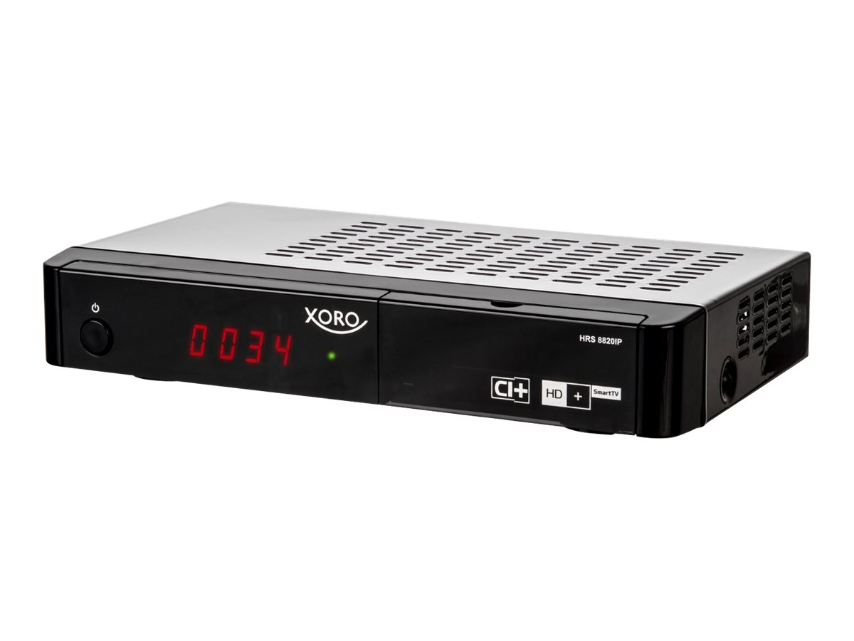 Xoro HRS 8820IP - Digitaler Multimedia-Receiver - Schwarz