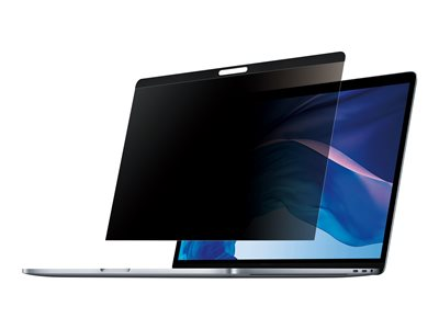 StarTech.com Laptop Privacy Screen for 13 inch MacBook Pro & MacBook Air, Magnetic Removable Security Filter, Blue Light Reducing Screen Protector 16:10, Matte/Glossy, +/-30 Degree Viewing - Blue Light Filter (PRIVSCNMAC13)