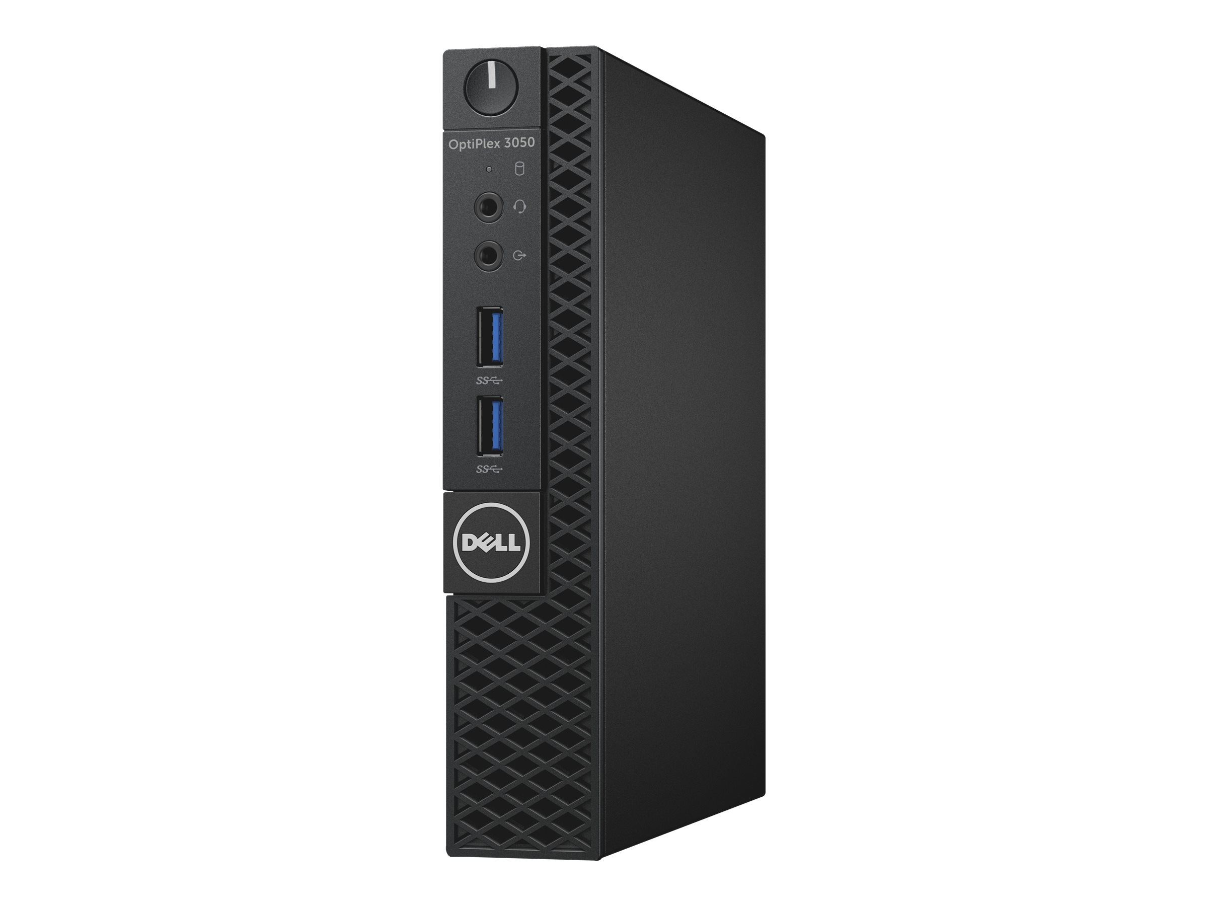 Dell OptiPlex 3050 - Micro - 1 x Core i5 7500T / 2.7 GHz - RAM 8 GB - SSD 256 GB - HD Graphics 630