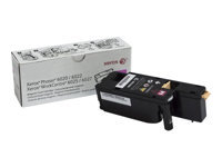 Xerox WorkCentre 6027 - Magenta - original - toner cartridge - for Phaser 6020V_BI, 6022/NI, 6022V_NI; WorkCentre 6025V_BI, 6027/NI, 6027V_NI