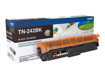 Brother TN 242BK Sort 2500 sider
