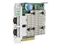 HPE 522FLR-T - network adapter - PCIe 3.0 x8 - 10Gb Ethernet x 2