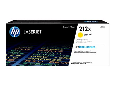 HP 212X - High Yield - yellow - original - LaserJet - ink cartridge