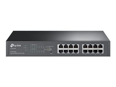 TP-Link Easy Smart TL-SG1016PE Switch 16-porte Gigabit  PoE+