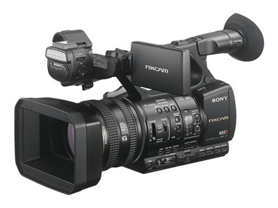 Sony NXCAM HXR-NX5R Camcorder 1080p 2.07 MP 20x optical zoom flash card Wi-F