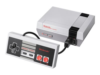 Nintendo Entertainment System Classic Mini Grå