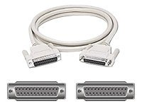 C2G - null modem cable - DB-25 to DB-25 - 1.83 m