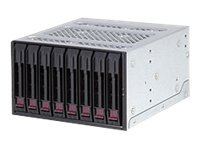 Supermicro Mobile Rack M28SAB - storage drive cage