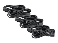 APC Power Cord Kit (6 ea) C19 to C20 (90 degree) 0.6m