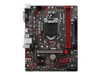 MSI H310M GAMING PLUS - Carte-mère - micro ATX - Socket LGA1151 - H310 - USB 3.1 Gen 1 - Gigabit LAN - carte graphique embarquée (unité centrale requise) - audio HD (8 canaux)