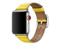 Apple 38mm Classic Buckle - Bracelet de montre - 130 - 195 mm - spring yellow - pour Watch (38 mm)