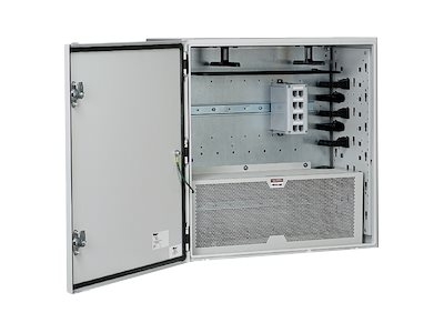 Panduit Pre-Configured Network Zone System - network device security cabinet