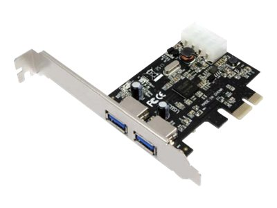 LogiLink USB 3.0 2-Port PCI Express Card - USB-Adapter - PCIe 2.0 - USB 3.0 x 2