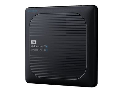 WD My Passport Wireless Pro WDBSMT0030BBK Network drive 3 TB HDD 3 TB x 1 RAM 512 MB