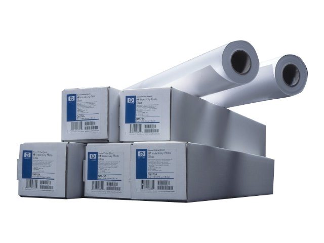 HP Universal Instant-Dry Photo Gloss - Brillant - Rouleau (91,4 cm x 30,5 m) - 190 g/m²