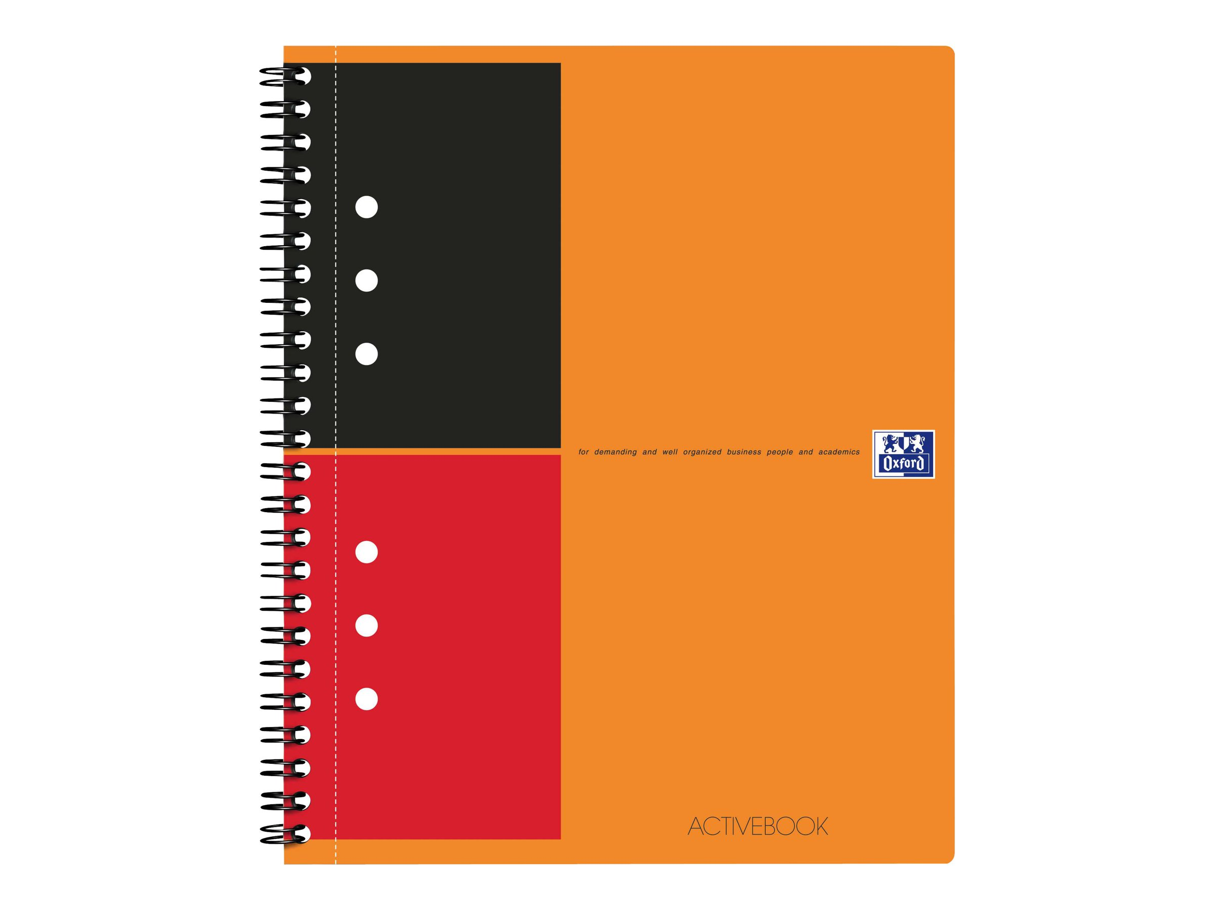 Oxford International Activebook - A5 - Cahier - 14,8 x 21 - 160 pages - ligné