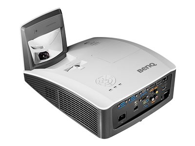 BenQ MX854UST - DLP projector - 3D - 3500 ANSI lumens - XGA (1024 x 768) - 4:3 - ultra short-throw lens