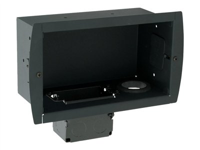 Premier Mounts GearBox GB-INWAVPB Mounting kit (junction box, in-wall enclosure) for AV System