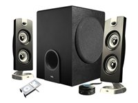 Cyber Acoustics CA-3602 Platinum speaker system for PC 2.1-channel 30 Wat