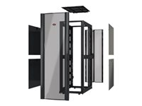 APC NetShelter SX Deep Enclosure Without Doors Rack black 42U 19INCH