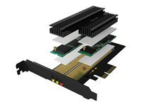 RaidSonic ICY BOX IB-PCI215M2-HSL Interfaceadapter