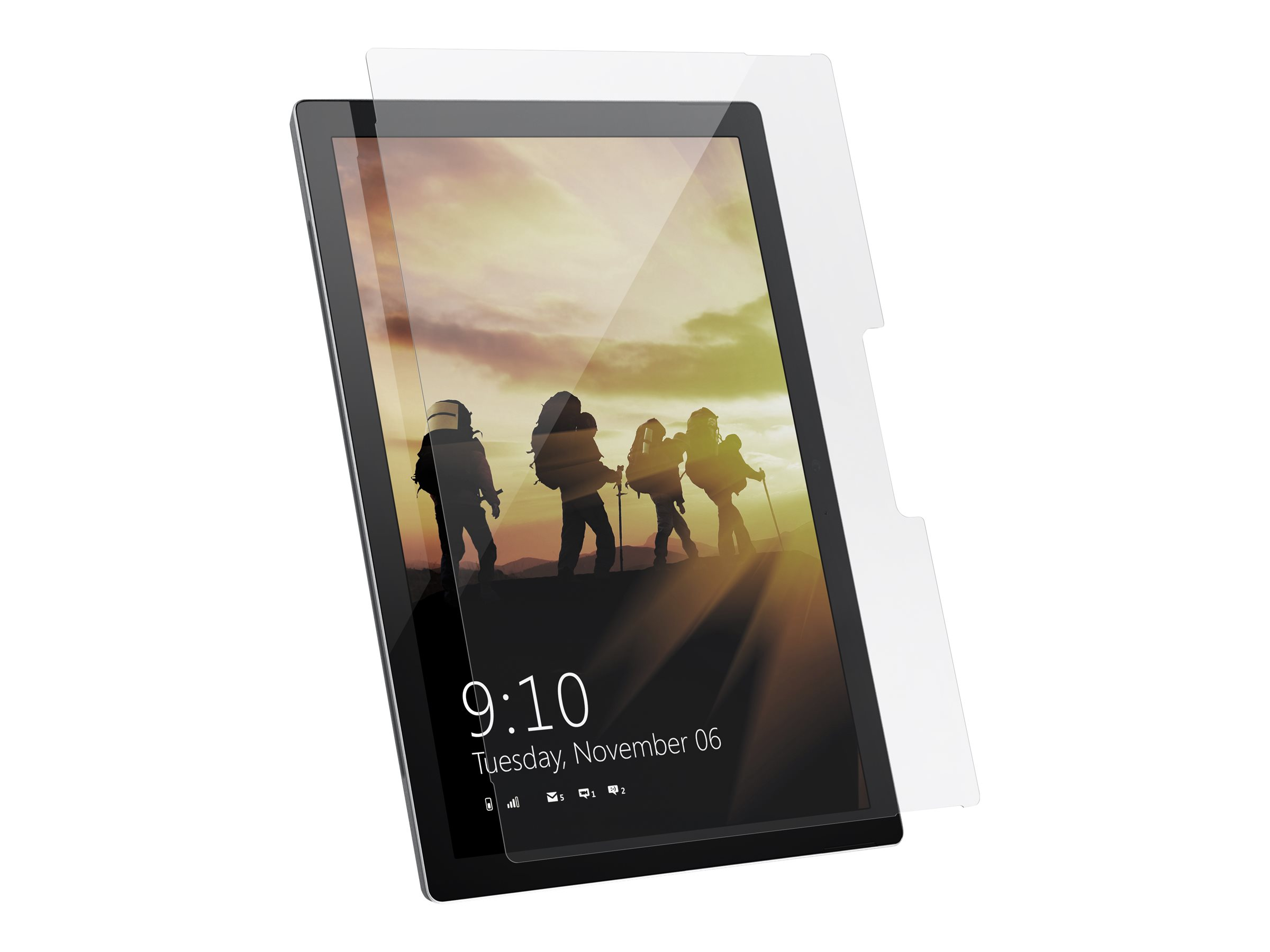 UAG Tempered Glass Screen Shield for Surface Pro 7 / Pro 6 / Pro 5 / Pro 3 / Pro LTE - screen protector for tablet