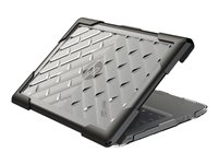 Gumdrop BumpTech Notebook top and rear cover 11.6INCH black, clear
