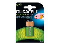 Duracell Recharge Ultra - Batterie 6HR61 NiMH 170 mAh