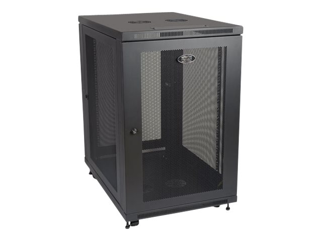 "Tripp Lite 18U Rack Enclosure Server Cabinet 33"" Deep w/ Doors & Sides rack - 18U"