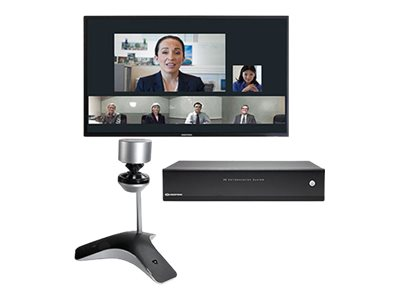 """Poly - Polycom CX8000 for Microsoft Lync - video conferencing kit - 55"""" - with CX5100 Unified Conference Station"""