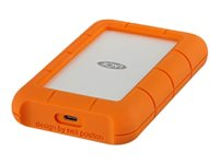 LaCie Rugged USB-C STFR5000800 - Disque dur - 5 To - externe (portable) - USB 3.1 Gen 1 (USB-C connecteur) - avec 2 ans Rescue Data Recovery Service Plan