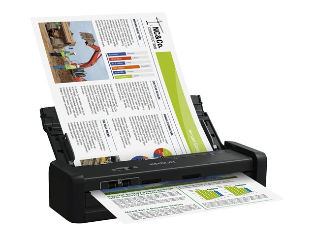 Epson WorkForce DS-360W - scanner de documents - modèle bureau - USB 3.0, Wi-Fi(n)
