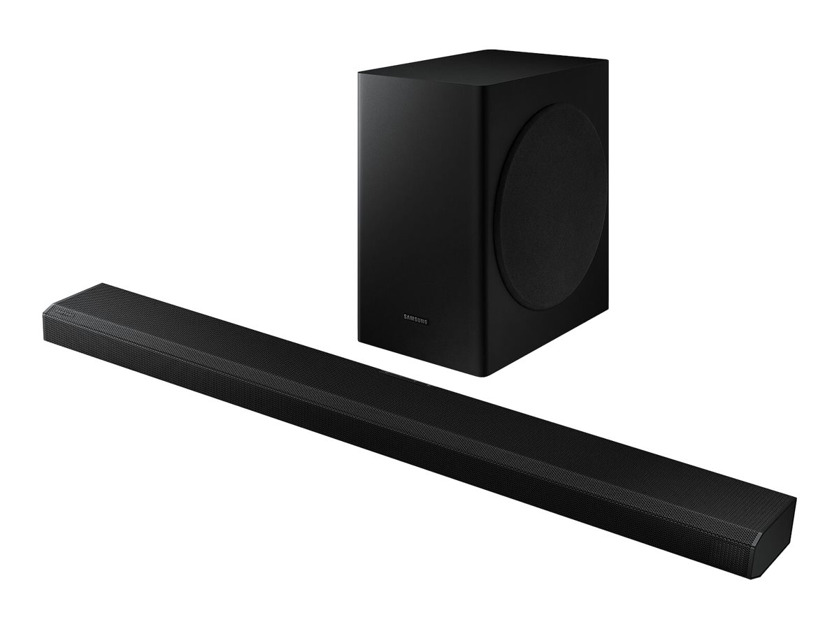 Samsung HW-Q70T - sound bar system - for home theater - wireless